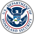 Logo of the US Department of Homeland Security