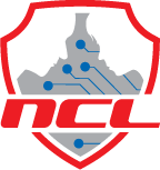 the red shield of the National Cyber League (NCL) Logo