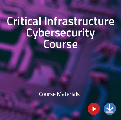critical infrastructure cybersecurity course