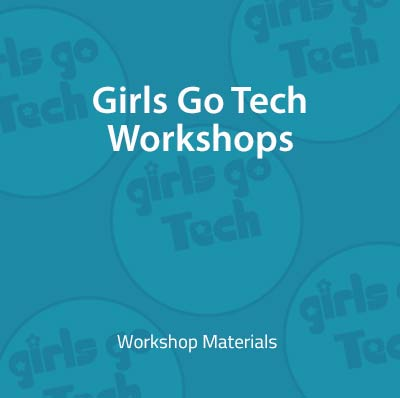 Girls Go Tech graphic with logo